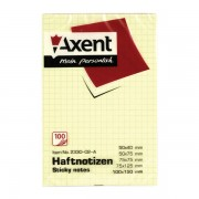 Notesuri adezive 100x150 mm in patratele Axent 2330-02