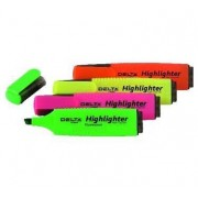 Marker evidentiator Delta Highlighter set 4 buc. D2501-40