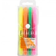 Marker evidentiator Delta Highlighter set 4 buc