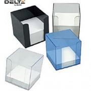 Suport plastic p/u hirtie Delta 9x9x9cm