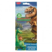 Creion color 12 culori DACO Good Dinosaur