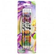 Creion negru cu radiera set 5 DACO Fairies