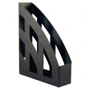 Suport vertical A4 din plastic Delta negru