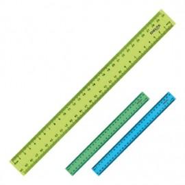 Riglă din plastic 30 cm, Delta
