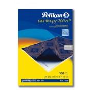 Hîrtie copiativa Pelican 200H original albastra 100 buc