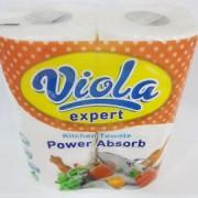Prosop din hartie Viola Expert 2 role albe