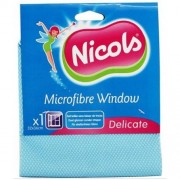 Microfibra p/u sticla Nicols Windows, 32x36 cm