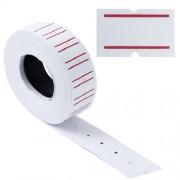 Etichete pret mici p/u dispenser, albe dreptunghiulare