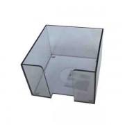 Suport din plastic pentru hirtie, 9x9 cm