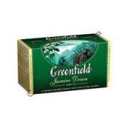 Ceai verde Greenfield Jasmine Dream, 2 gr x 25 plic.