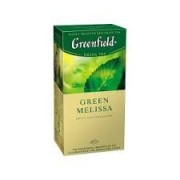 Ceai verde Greenfield Melissa 1.5 gr x 25 plic.