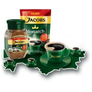 Cafea Jacobs Monarch solubil 190 gr