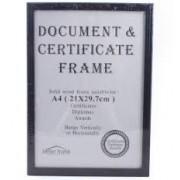 Ramă A4 din lemn pentru documente