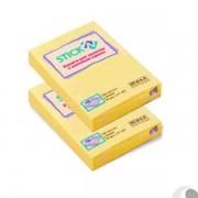 Stick notes adezive 51x76mm, 100 file/set, culori pastel