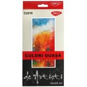 Set de 12 culori profesionale guasa Artist Daco