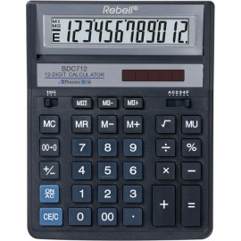 "Calculator Rebell 12 cifre, model ""888"", 155X205mm, albastru"